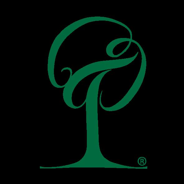 engrossalg af juletræer silva green logo